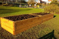 Our new raised beds for 2017