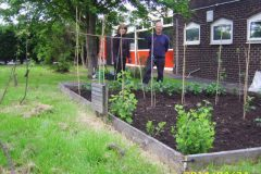 Veg Beds at Whitefield Community Fire Station 1