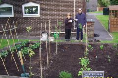 Veg Beds at Whitefield Community Fire Station 2